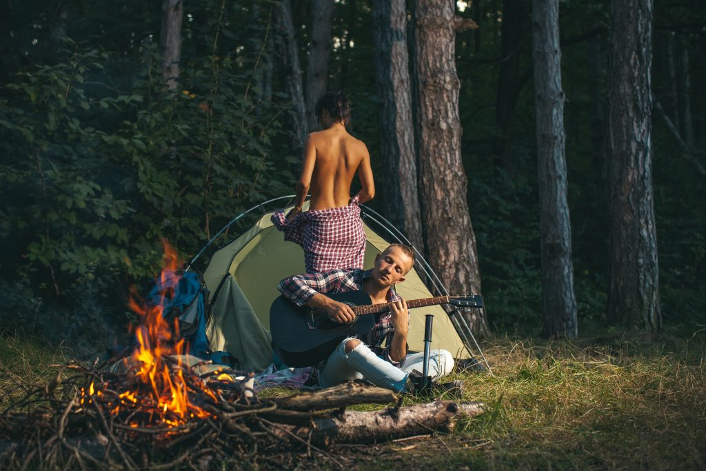 Erotic Short Stories Cheating story at the Campground campsite