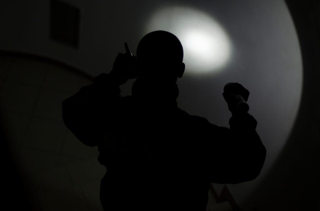 flashlight police officer sex