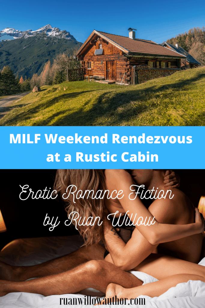 Milf sex at a rustic cabin
