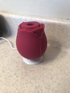 Rose vibrator flower vibrator clitoris sucker charging