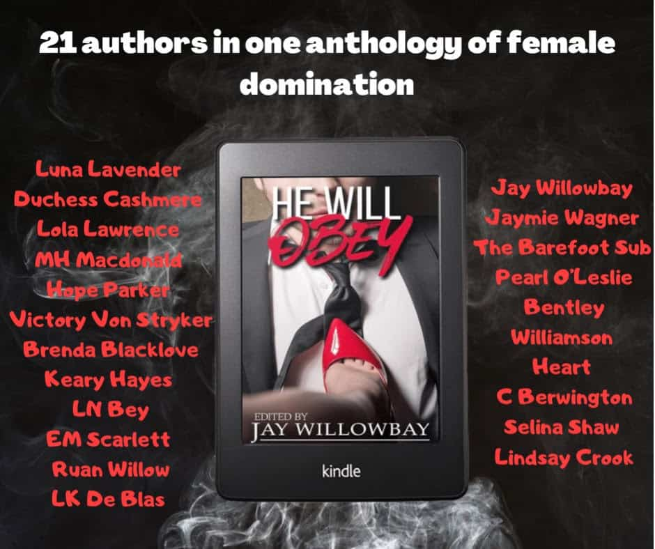 femdom domination He Will Obey author list